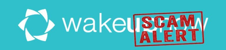 Wake Up Now Scam – Keep Your Distance
