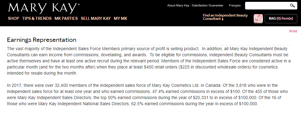 Mary-kay-income-disclosure