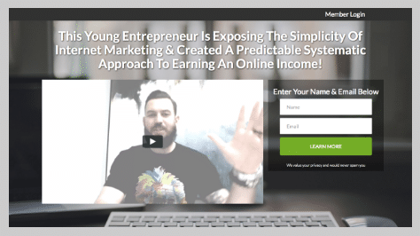 Internet Lifestyle Pros Review - Lead Capture 1