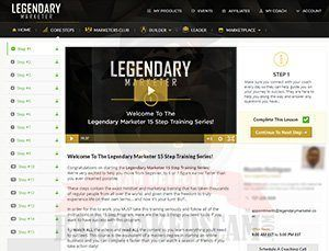 Legendary Marketer Core Steps Review