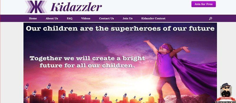 Kidazzler-Scam-Home-Page