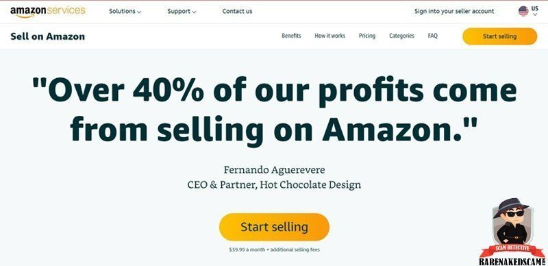 Create Your Amazon Seller Account
