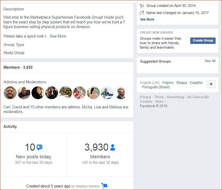 MPSH Facebook Group