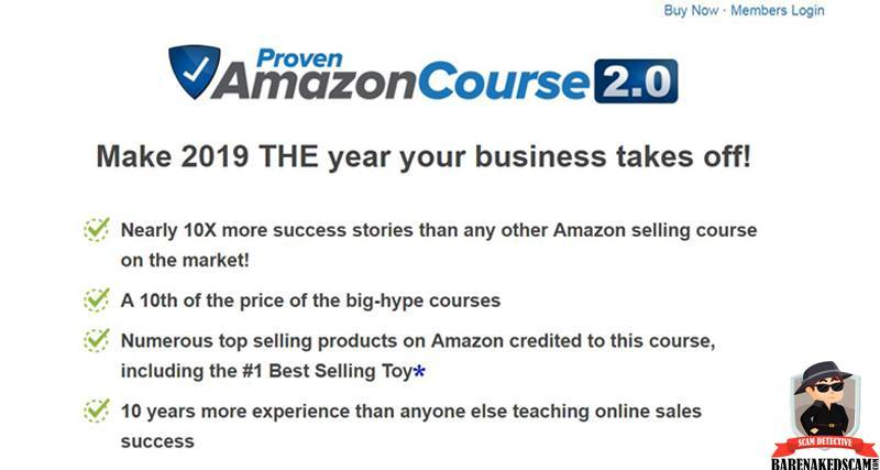 Proven Amazon Course Home Page