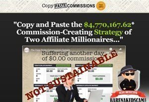 Copy Paste Commissions Scam Exposed
