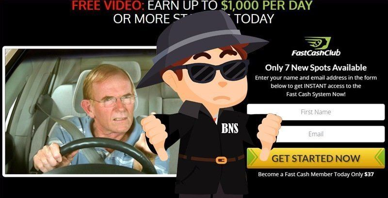 Fast Cash Club Scam