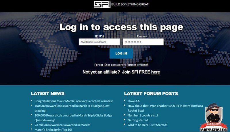 SFI Home Page