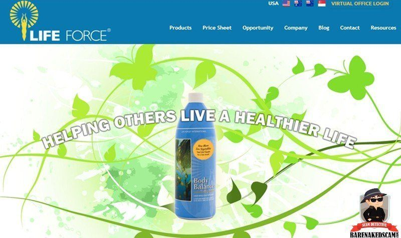 Home Page Life Force International