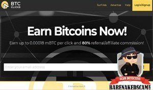BTC Clicks Scam