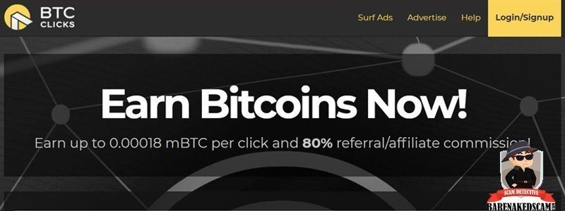 BTC Clicks Home Page