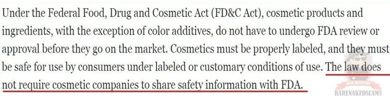 The Ugly Truth Behind the Cosmetics Industry – Bare Naked Scam