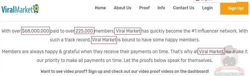 Viral Market Payments