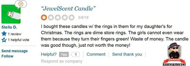 JewelScent Candles Not Worth It