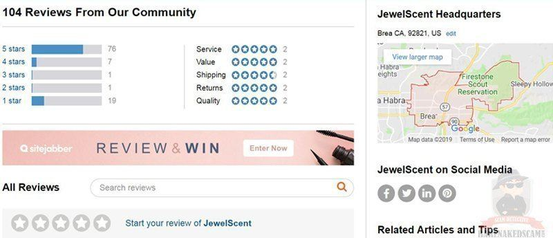 JewelScent Customer Reviews All
