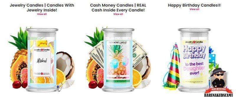 Jewelry Candles Products