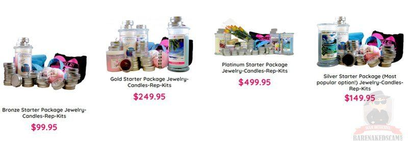 Jewelry Candles Starter Kits Price