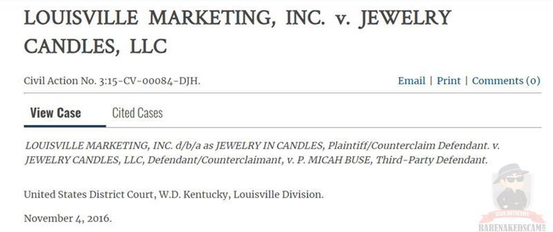 Jewelry In Candles Vs Jewelry Candles Case