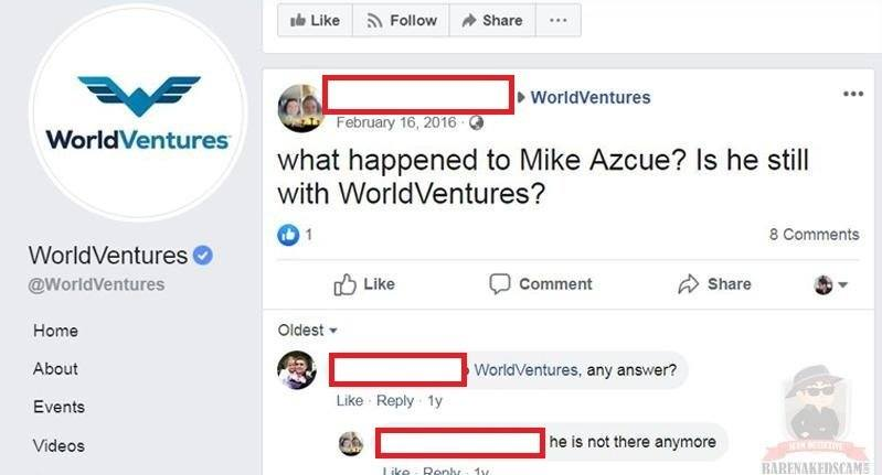 Mike Azcue World Ventures