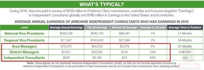 Arbonne-Independent-Consultants-Income