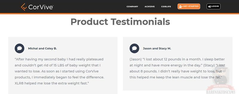 Corvive-Products-Testimonial