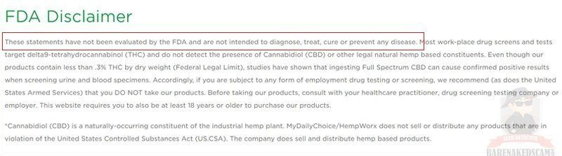 Hempworx-FDA-Disclaimer