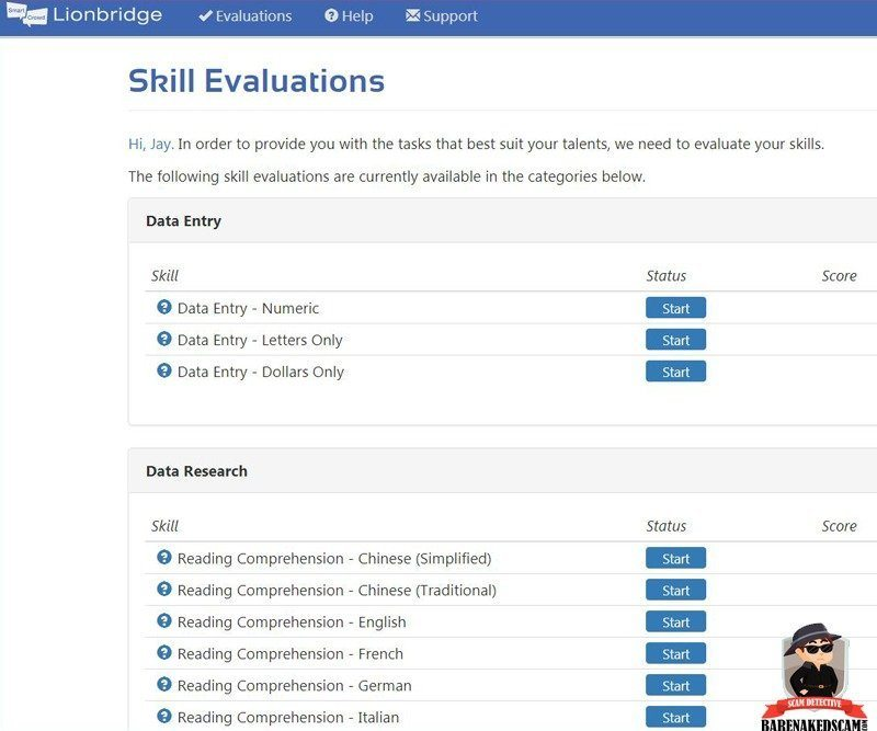 Skill-Evaluation-Test-Lionbridge