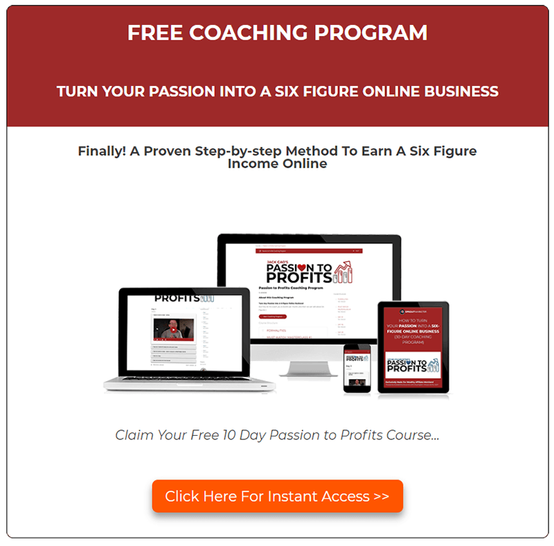 Free Passion to Profits Course