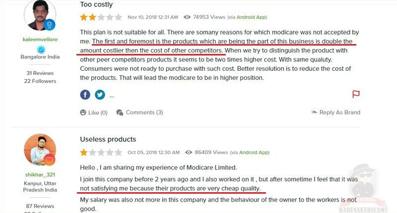 Modicare-Products-Bad-Review