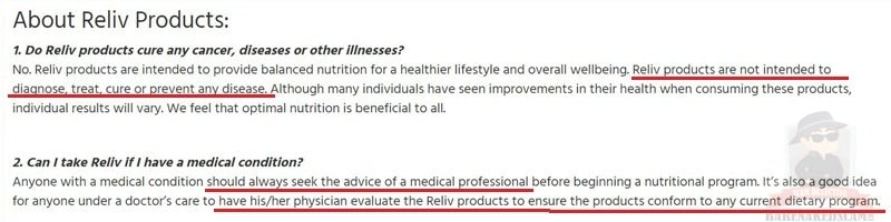 Is-Reliv-FDA-Approved